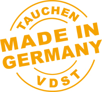 Logo des VDST - Tauchen made in Germany